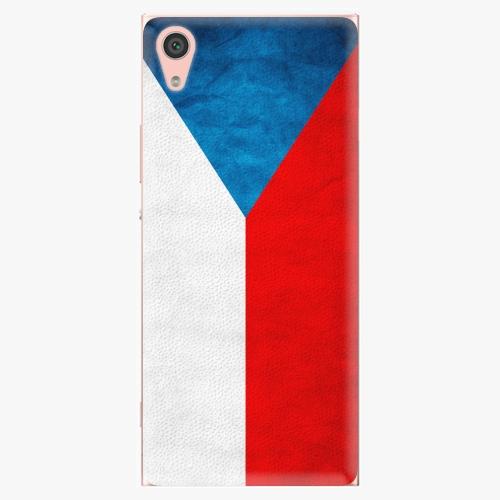 Plastový kryt iSaprio - Czech Flag - Sony Xperia XA1