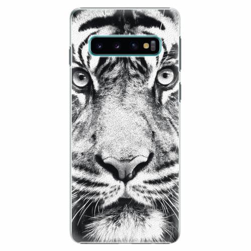 Plastový kryt iSaprio - Tiger Face - Samsung Galaxy S10