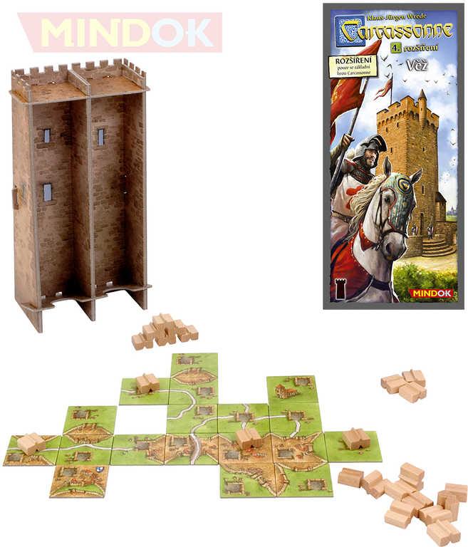 MINDOK HRA Carcassonne rozšíření 4 Věž
