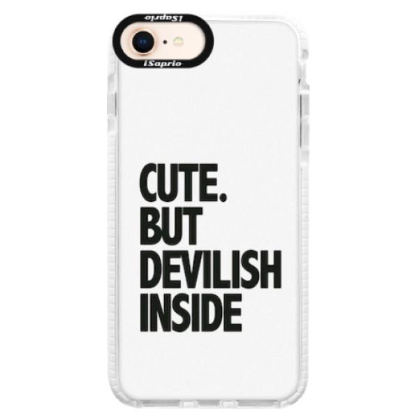 Silikonové pouzdro Bumper iSaprio - Devilish inside - iPhone 8