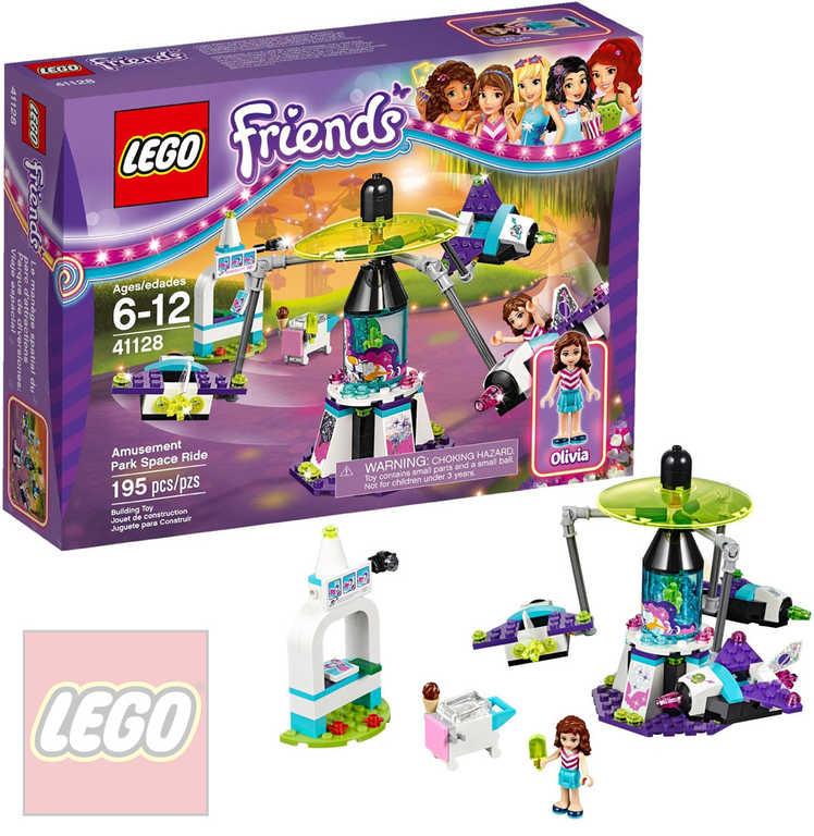 LEGO FRIENDS Vesmírná atrakce v zábavním parku 41128 STAVEBNICE