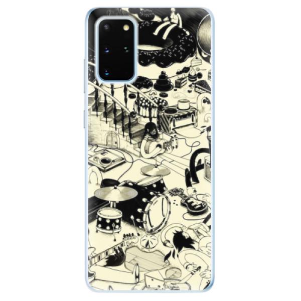 Odolné silikonové pouzdro iSaprio - Underground - Samsung Galaxy S20+