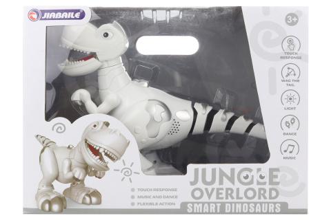 Robot dinosaurus na baterie
