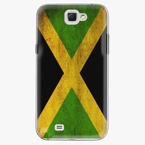 Plastový kryt iSaprio - Flag of Jamaica - Samsung Galaxy Note 2