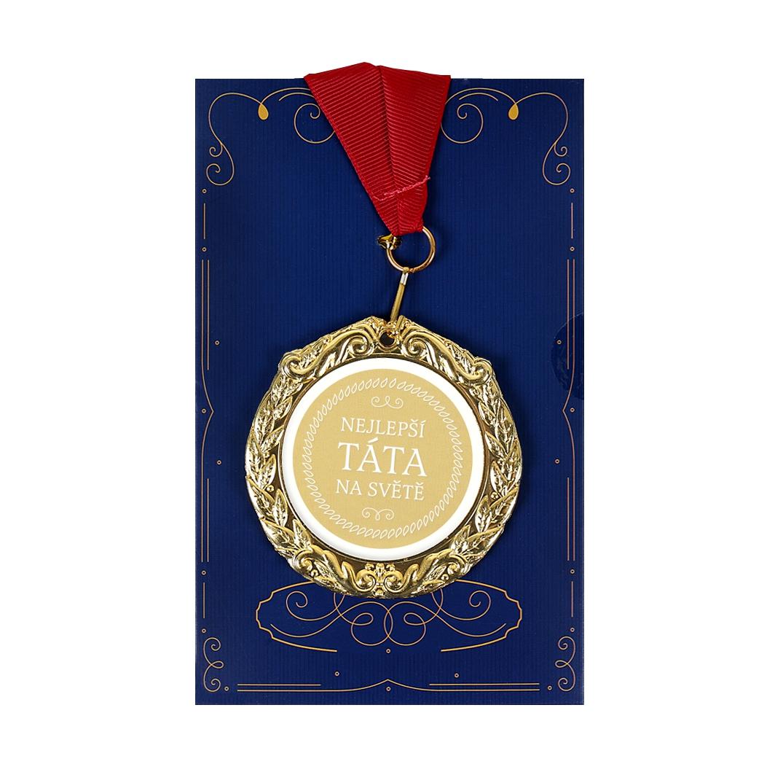 ALBI Přání s medailí - Nejlepší táta