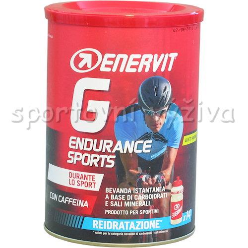 Enervit G Endurance 420g doza-citrus-s-kofeinem