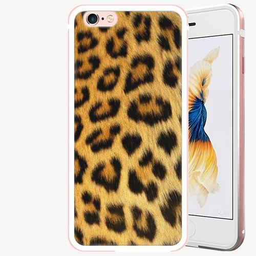 Plastový kryt iSaprio - Jaguar Skin - iPhone 6 Plus/6S Plus - Rose Gold