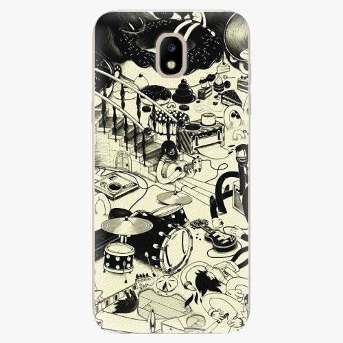 Silikonové pouzdro iSaprio - Underground - Samsung Galaxy J5 2017