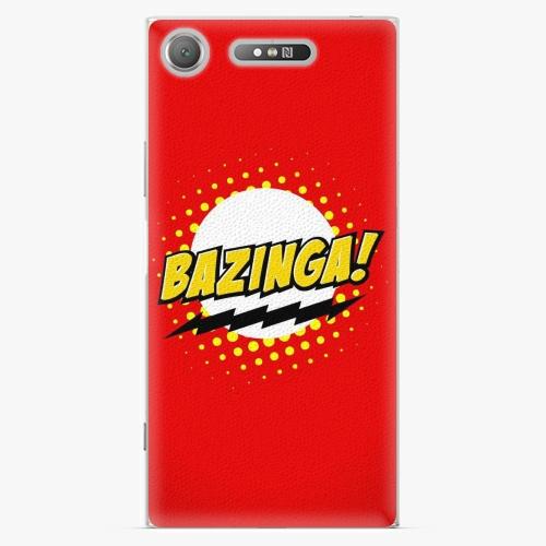 Plastový kryt iSaprio - Bazinga 01 - Sony Xperia XZ1