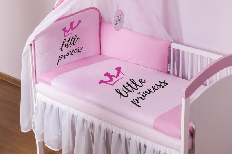 baby-nellys-3-dilna-sada-mantinel-180cm-s-povlec-little-princess-ruzovy-roz-135x100cm-135x100