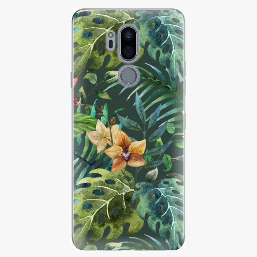 Plastový kryt iSaprio - Tropical Green 02 - LG G7