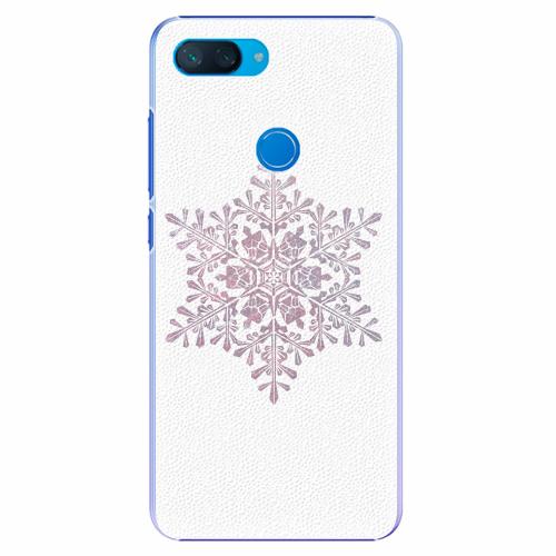 Plastový kryt iSaprio - Snow Flake - Xiaomi Mi 8 Lite