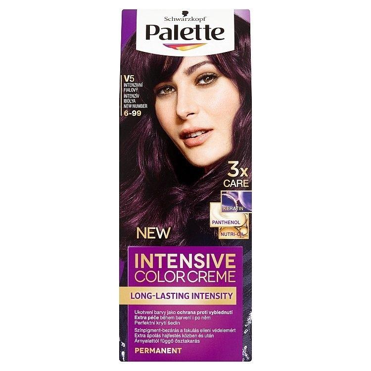 Schwarzkopf Intensive Color Creme barva na vlasy Intezivní fialový V5 (6-99)