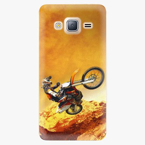 Plastový kryt iSaprio - Motocross - Samsung Galaxy J3
