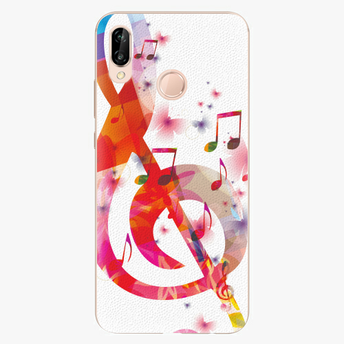 Plastový kryt iSaprio - Love Music - Huawei P20 Lite