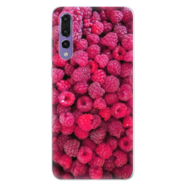 Silikonové pouzdro iSaprio - Raspberry - Huawei P20 Pro