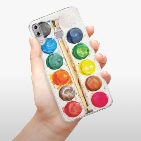 Plastové pouzdro iSaprio - Watercolors - Asus ZenFone 5Z ZS620KL