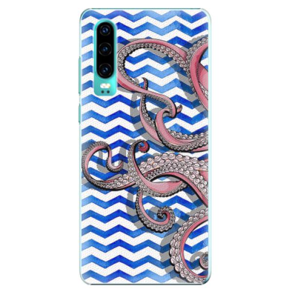 Plastové pouzdro iSaprio - Octopus - Huawei P30