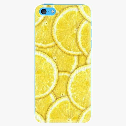 Plastový kryt iSaprio - Yellow - iPhone 5C