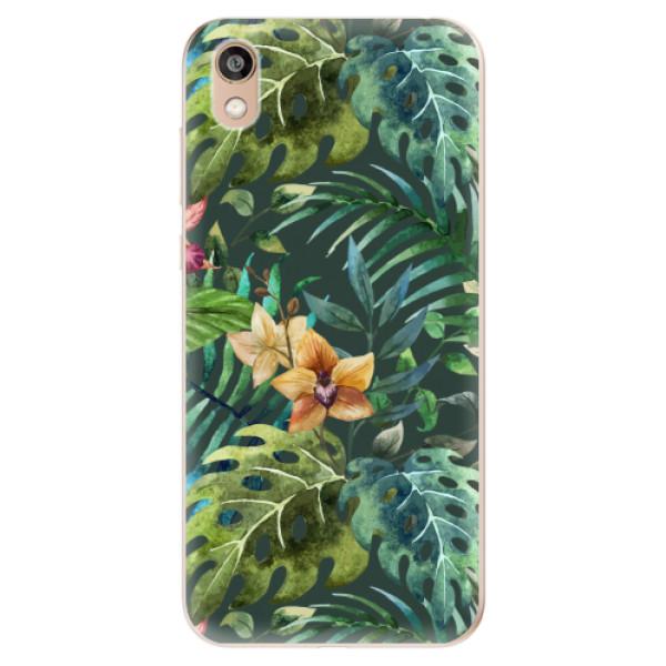 Odolné silikonové pouzdro iSaprio - Tropical Green 02 - Huawei Honor 8S