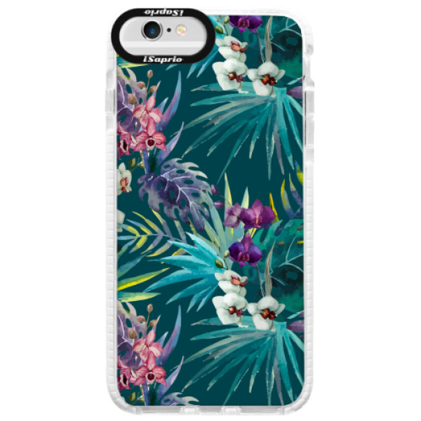 Silikonové pouzdro Bumper iSaprio - Tropical Blue 01 - iPhone 6/6S