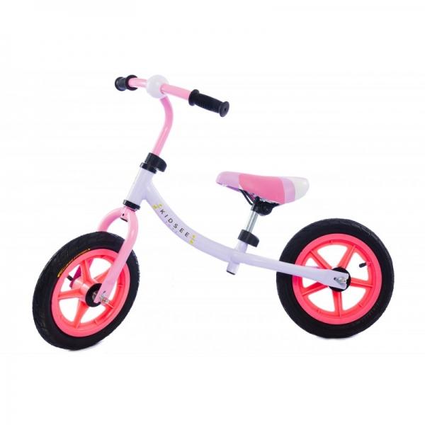 Dětské odrážedlo - kolo - růžové