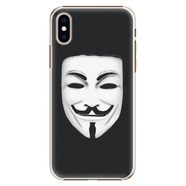 Plastové pouzdro iSaprio - Vendeta - iPhone XS