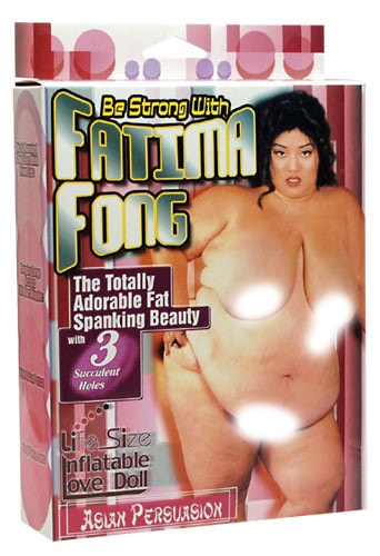 Nafukovací panna XXL Fatima Fong