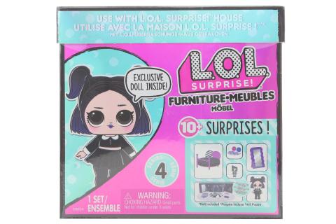 L.O.L. Surprise! Nábytek s panenkou - Útulný pokojíček & Dusk