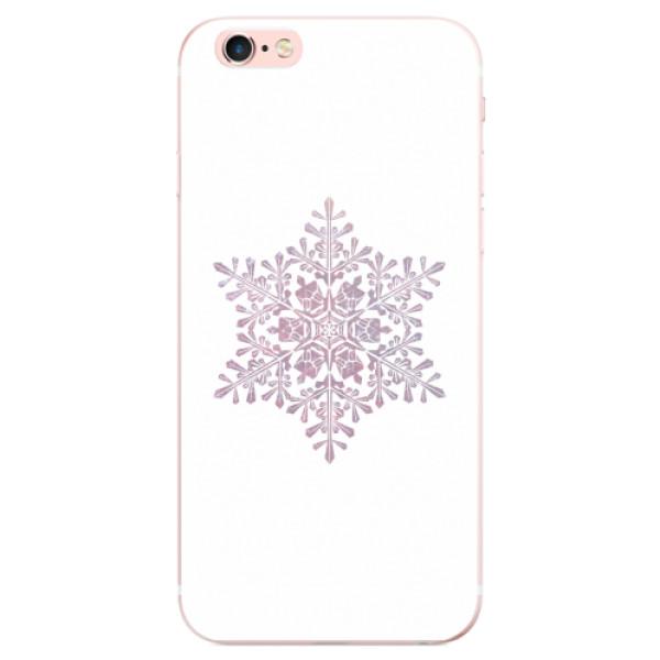 Odolné silikonové pouzdro iSaprio - Snow Flake - iPhone 6 Plus/6S Plus