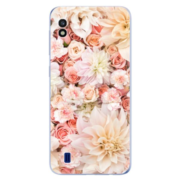 Odolné silikonové pouzdro iSaprio - Flower Pattern 06 - Samsung Galaxy A10