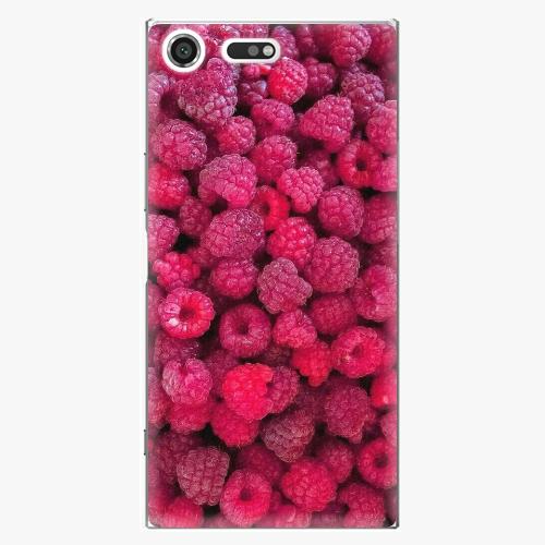 Plastový kryt iSaprio - Raspberry - Sony Xperia XZ Premium