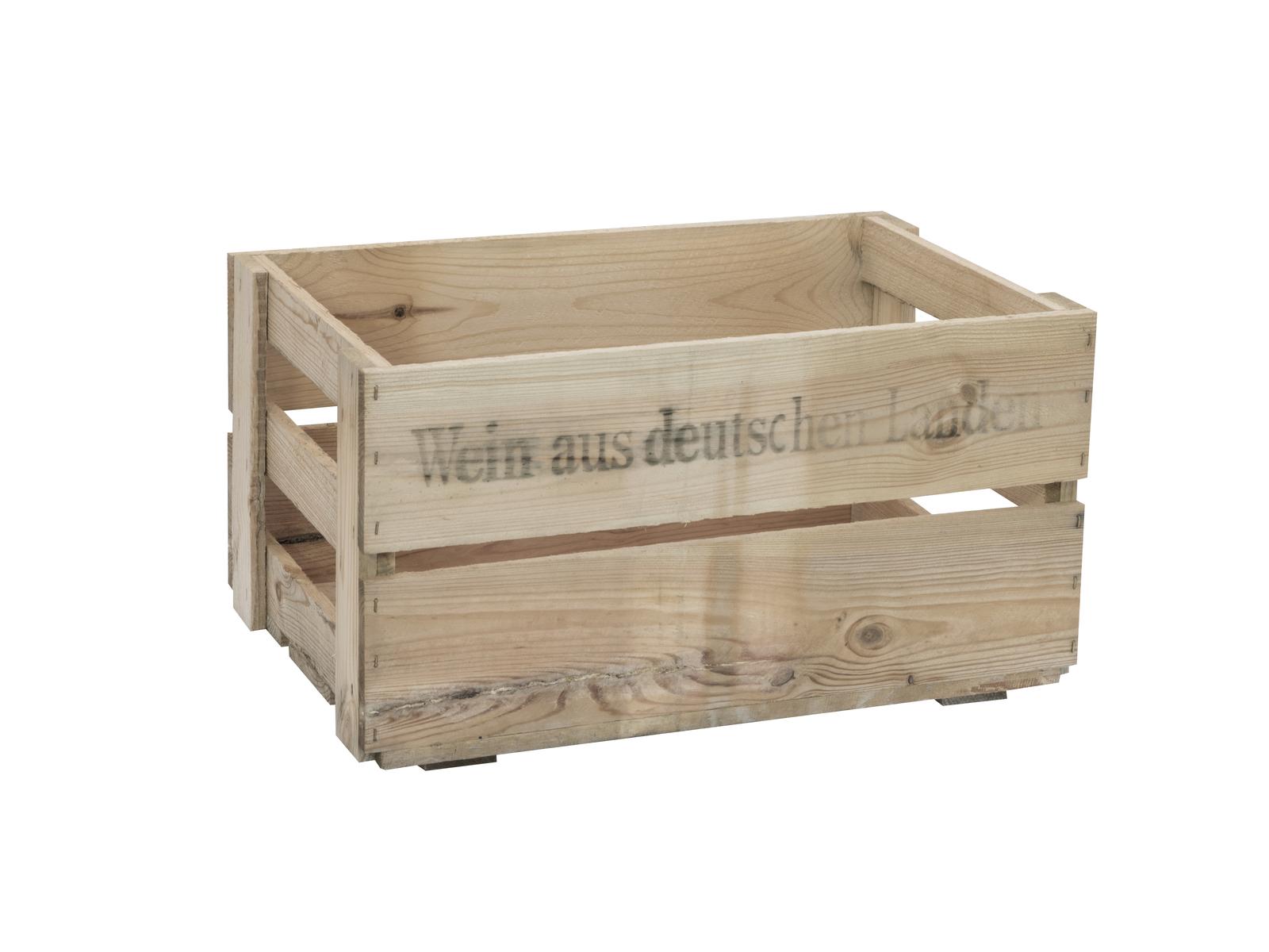 Box na víno, rustikální