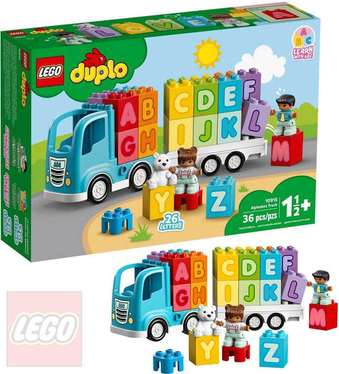 LEGO DUPLO Náklaďák s abecedou 10915 STAVEBNICE