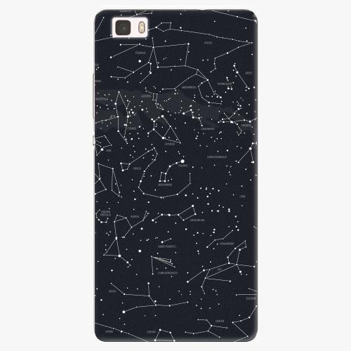 Plastový kryt iSaprio - Night Sky 01 - Huawei Ascend P8 Lite