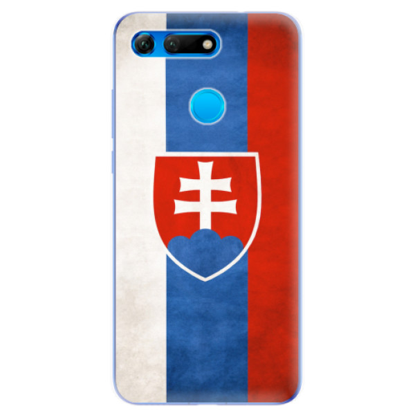 Odolné silikonové pouzdro iSaprio - Slovakia Flag - Huawei Honor View 20