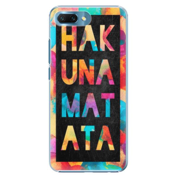 Plastové pouzdro iSaprio - Hakuna Matata 01 - Huawei Honor 10