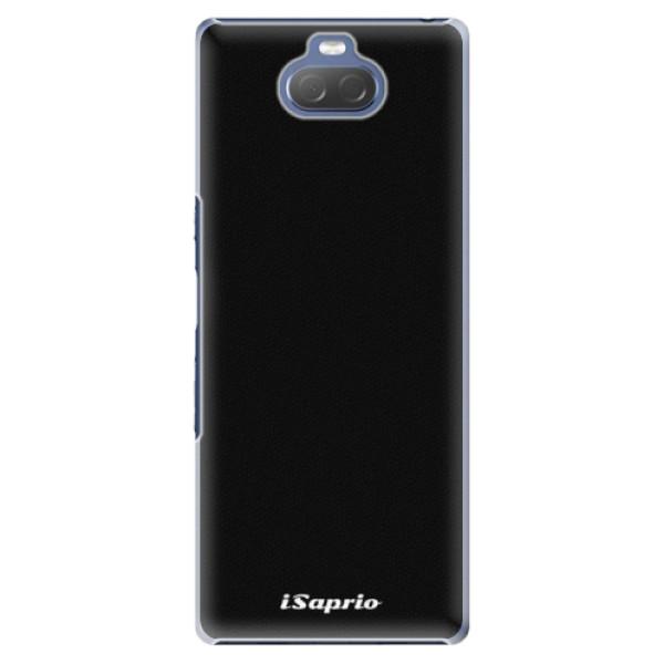 Plastové pouzdro iSaprio - 4Pure - černý - Sony Xperia 10 Plus