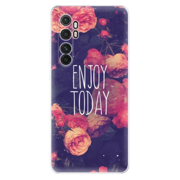 Odolné silikonové pouzdro iSaprio - Enjoy Today - Xiaomi Mi Note 10 Lite