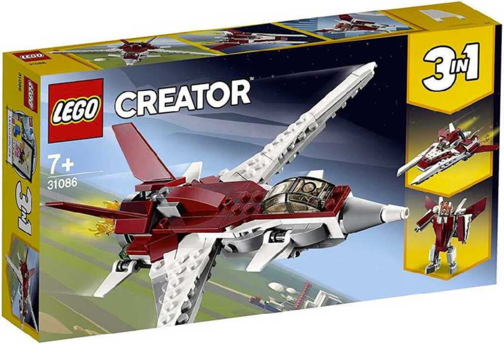 LEGO CREATOR Futuristický letoun 3v1 31086