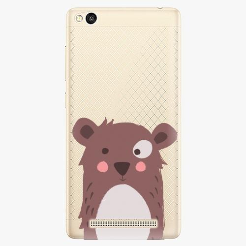 Plastový kryt iSaprio - Brown Bear - Xiaomi Redmi 3
