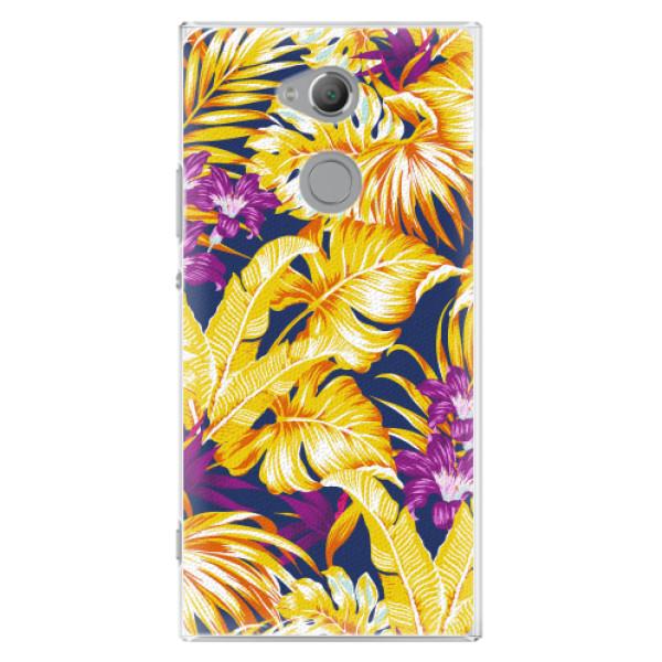 Plastové pouzdro iSaprio - Tropical Orange 04 - Sony Xperia XA2 Ultra