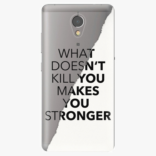 Plastový kryt iSaprio - Makes You Stronger - Lenovo P2
