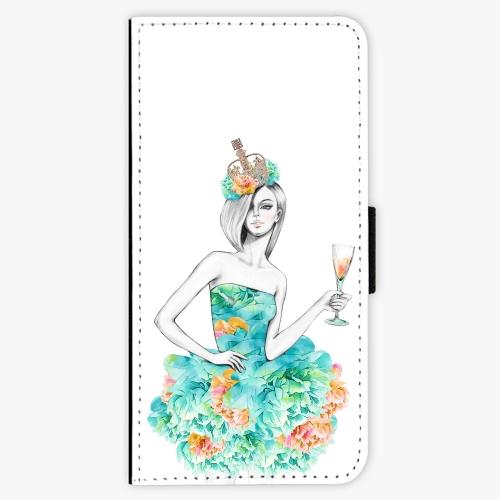 Flipové pouzdro iSaprio - Queen of Parties - Samsung Galaxy A3 2017