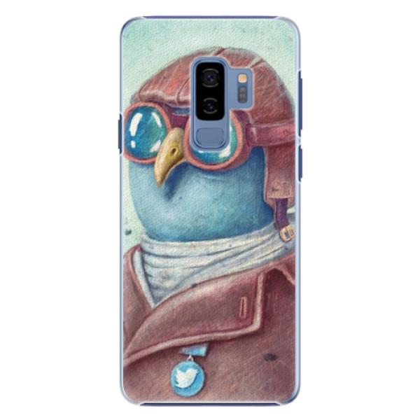 Plastové pouzdro iSaprio - Pilot twitter - Samsung Galaxy S9 Plus