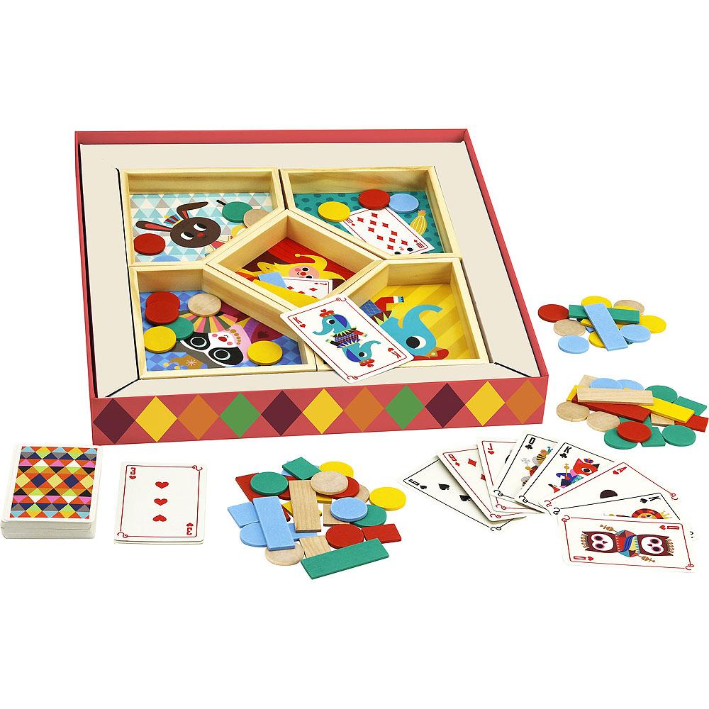 Vilac Karetní hra Žlutý trpaslík