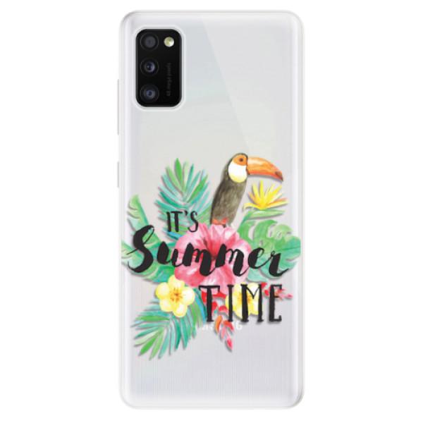 Odolné silikonové pouzdro iSaprio - Summer Time - Samsung Galaxy A41