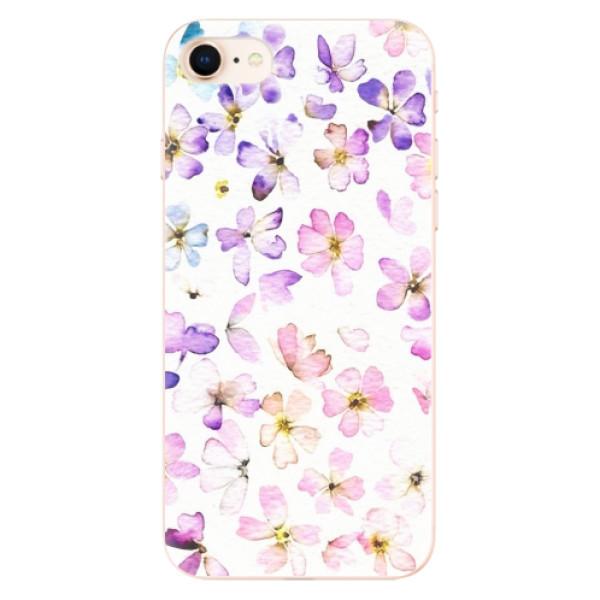 Odolné silikonové pouzdro iSaprio - Wildflowers - iPhone 8