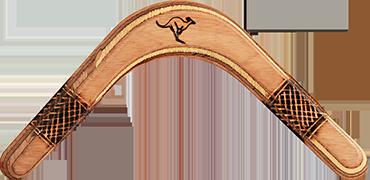 Bumerang Pyroman - Pravoruký