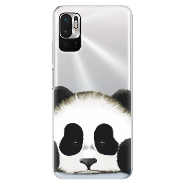 Odolné silikonové pouzdro iSaprio - Sad Panda - Xiaomi Redmi Note 10 5G